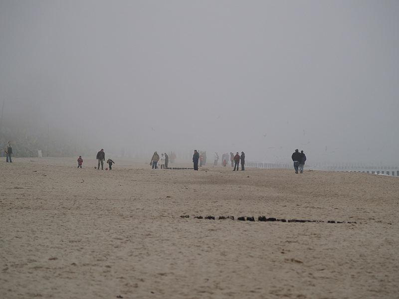 Lost in fog.
