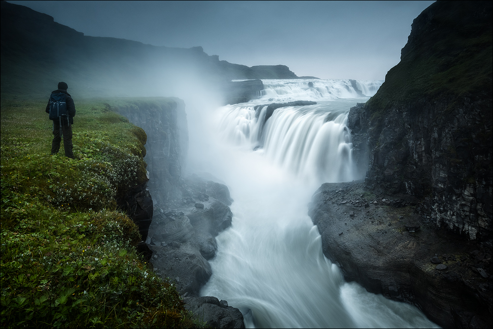 [ ... lost in iceland ... gullfoss ]