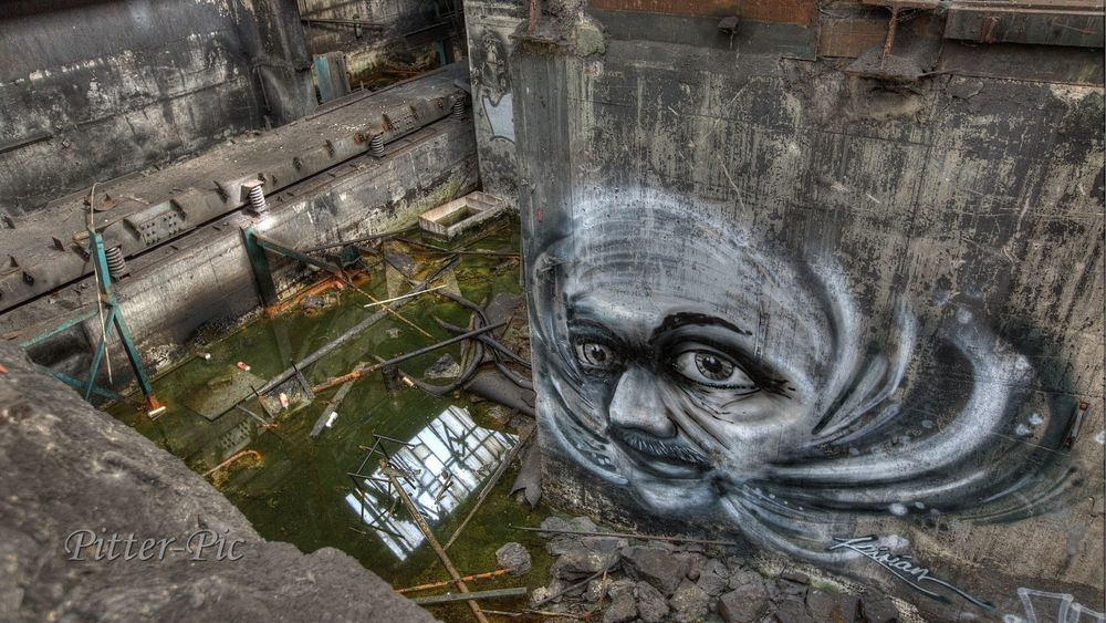 Lost Place Graffiti