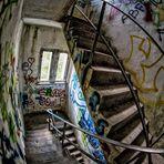 Lost Place Treppenhaus