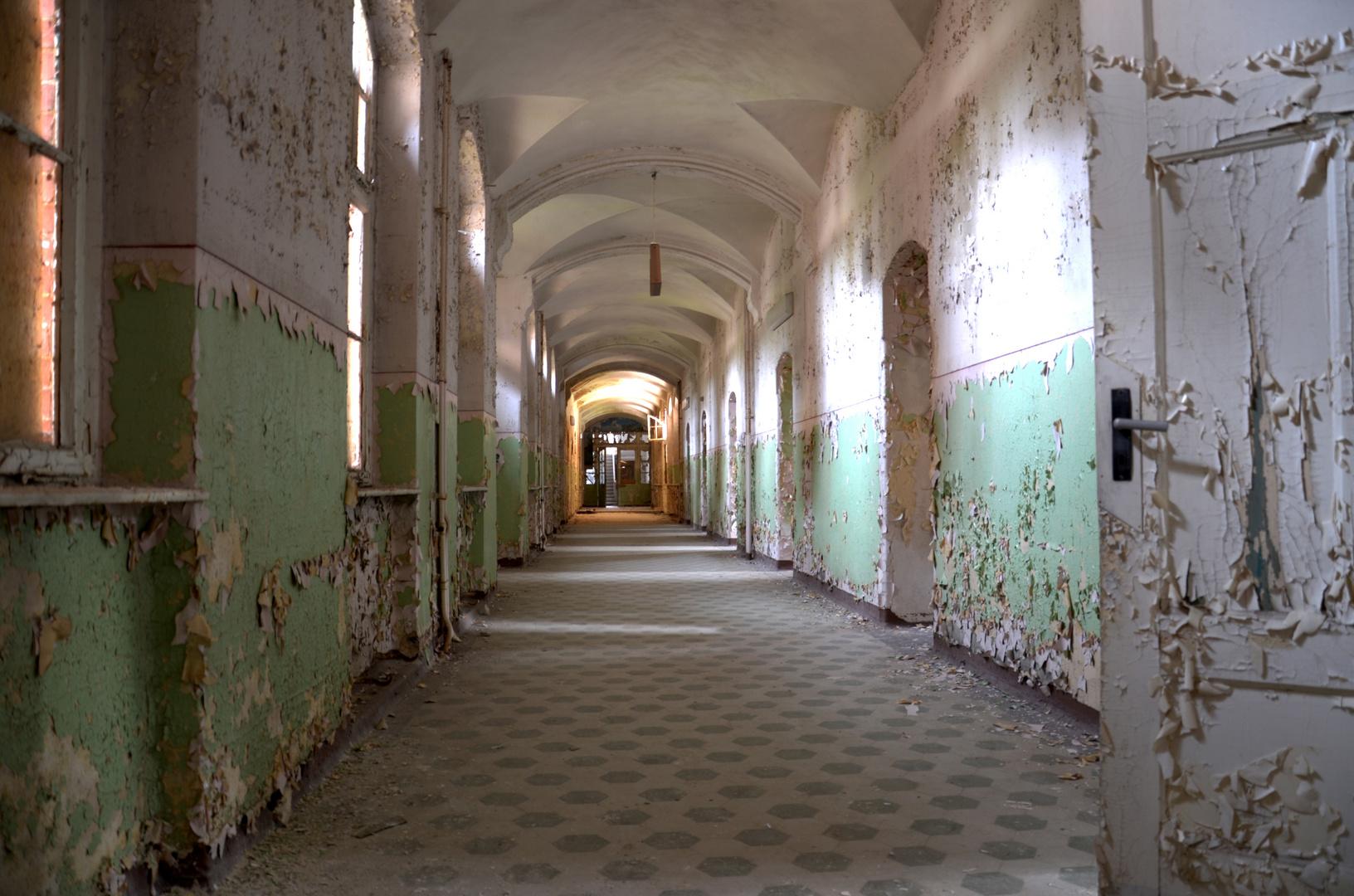 Lost places - Beelitz-Heilstätten (2)