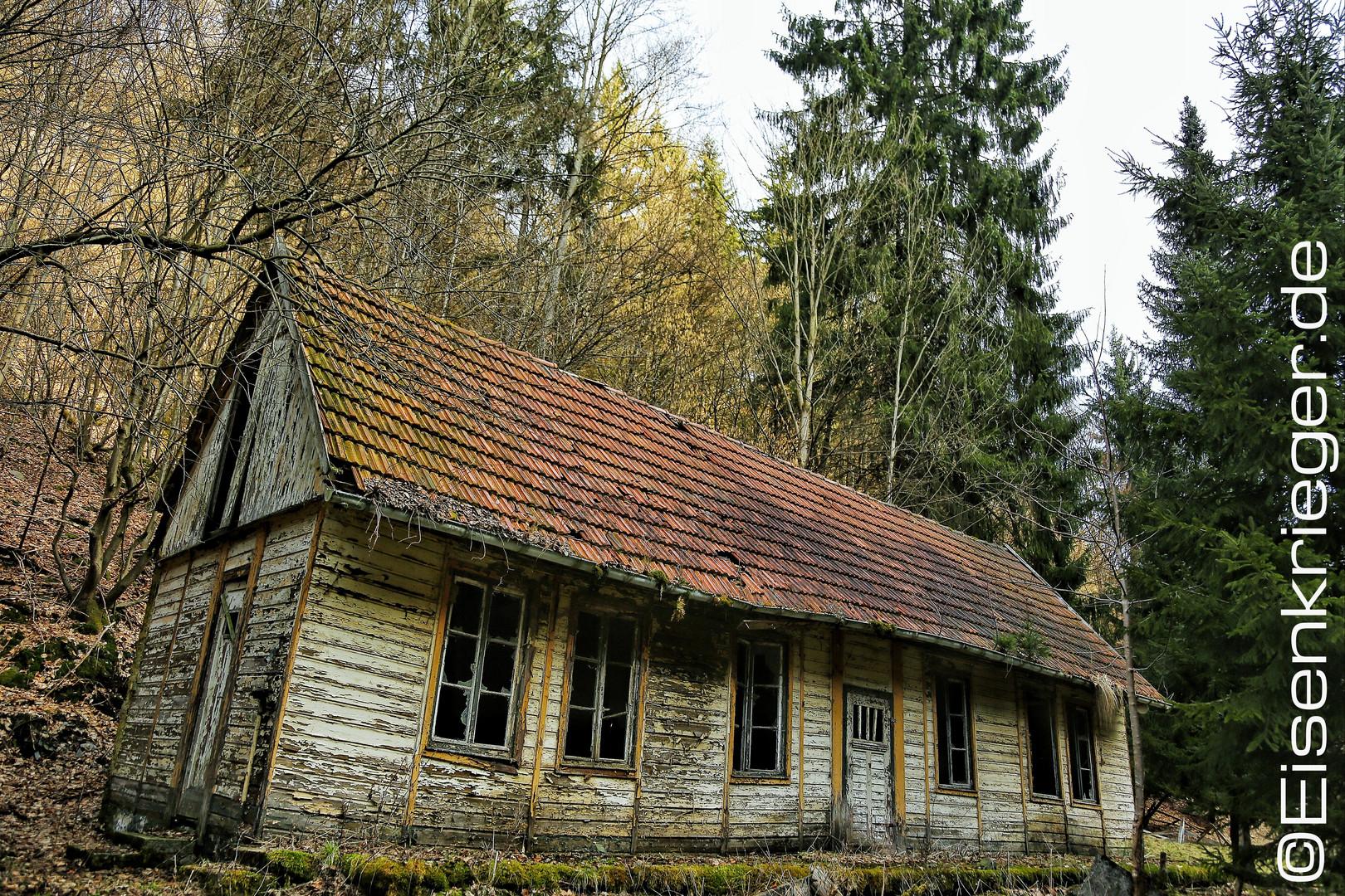 "Lost places in Forest ""southharz"" verlorene Plätze im Südharz"