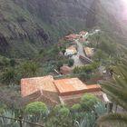 Lost settlement under Teide. Tenerife