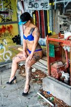 Lostplace meets Inked Model