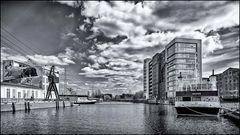 Lotsekanal Hamburger Binnenhafen ...