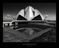 Lotustempel der Baha'i