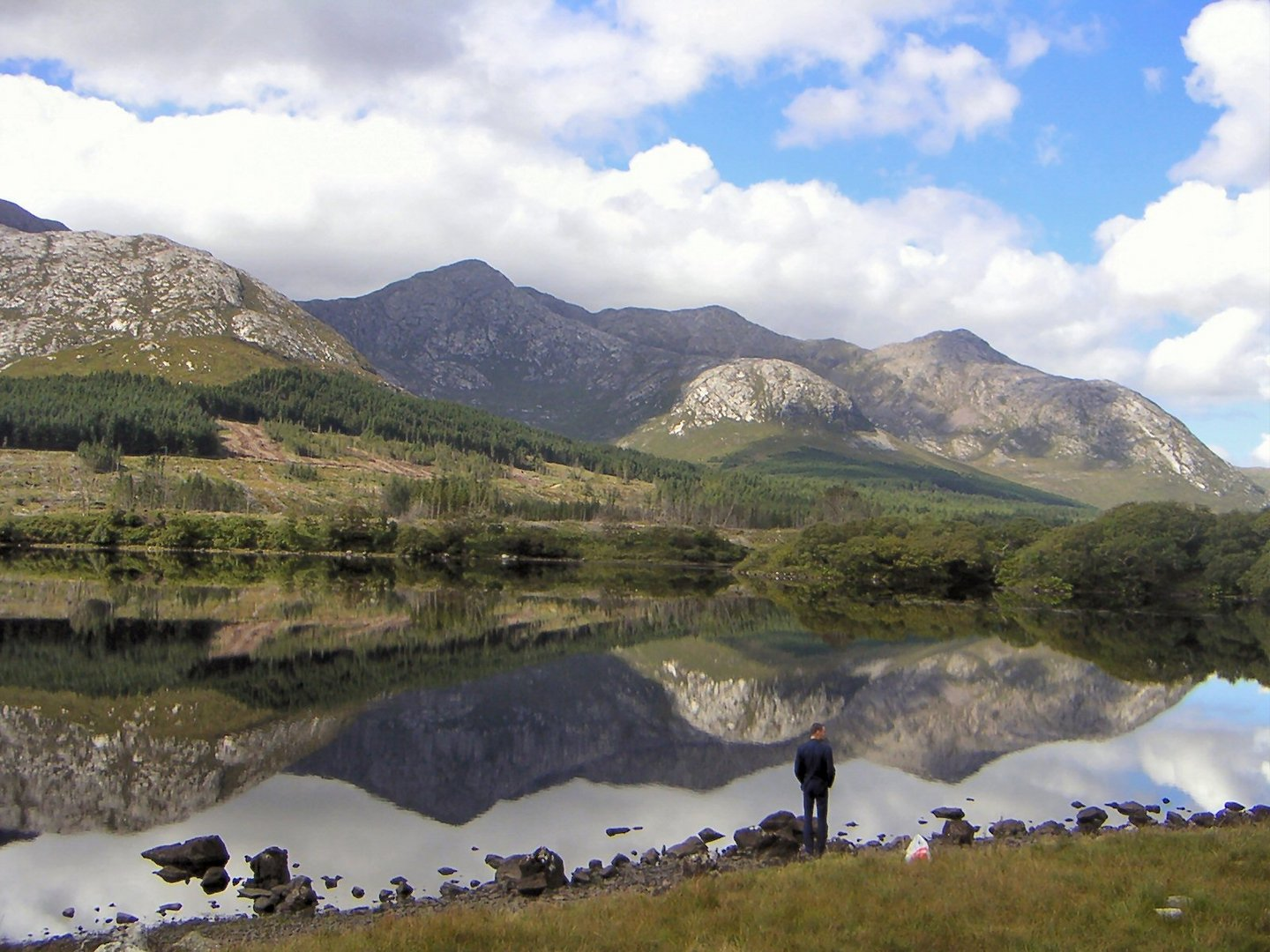 Lough Inagh in Connemara / Irland