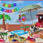 Louisa hat heute Geburtstag