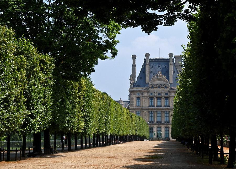 Louvre - Aufgang Rechts