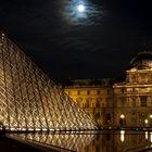 Louvre im Mondlicht
