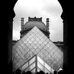 Louvre Museum. The Pyramid