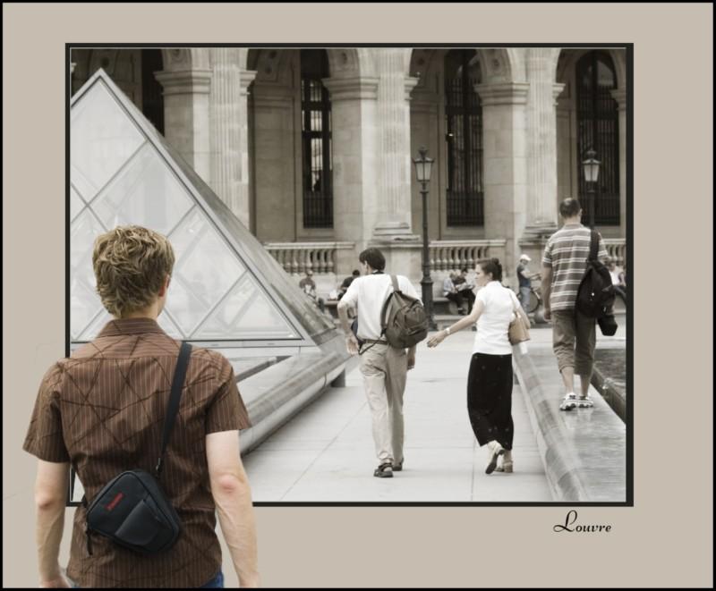 Louvre von außen?