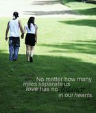 Love has no distance
