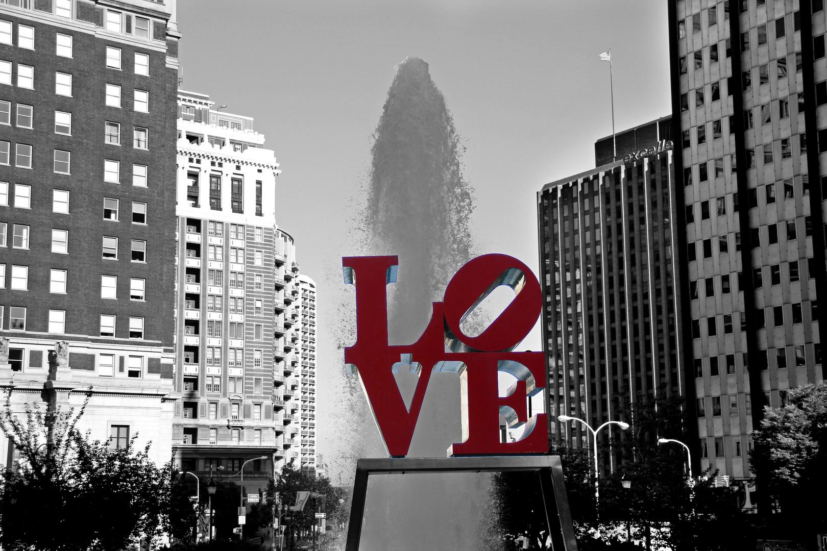 Love Statue - Philadelphia