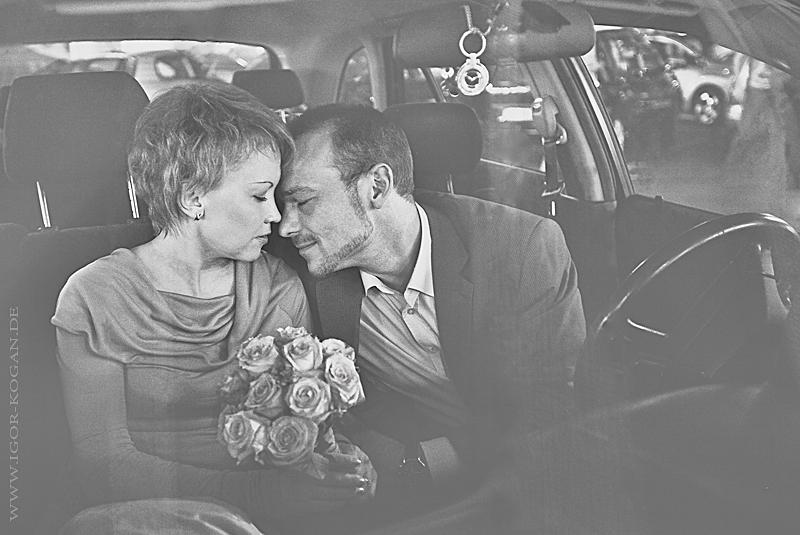 Love Story. Oksana und Alex.