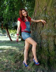 Lovely Jeans Girl
