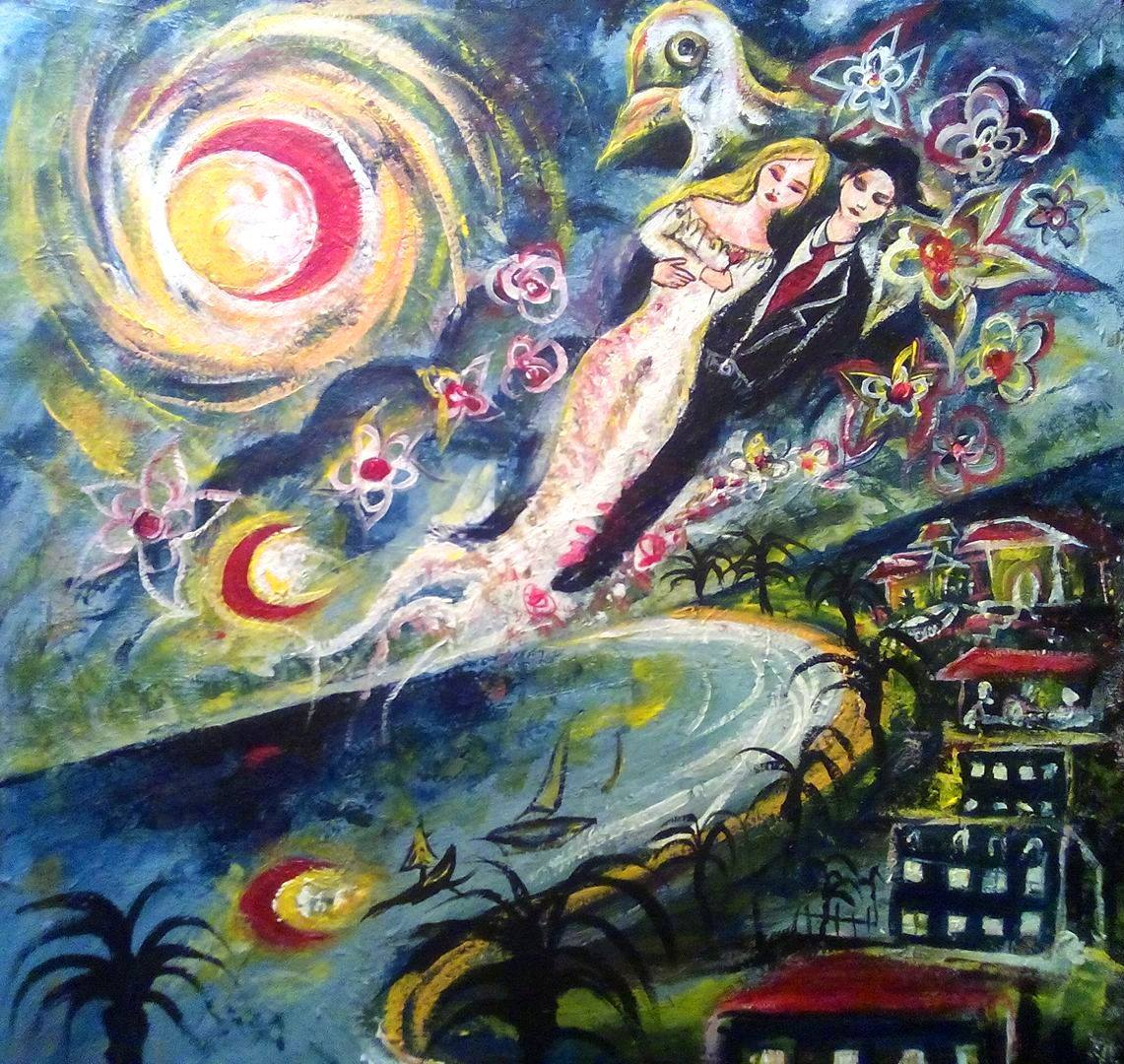 Marc Chagall Lovers-over-the-sky-marc-chagall-remake-by-igli-marion-f7ad338d-7adc-48df-a530-9f9e8311f934