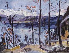 Lovis Corinth Ostern am Walchensee