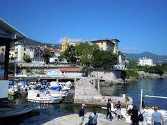 Lovran in Croatien