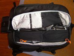 Lowepro Vertex 200 AW - vorn - Fach rechts