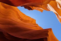 Lower Antelope Canyon meets the Sky!