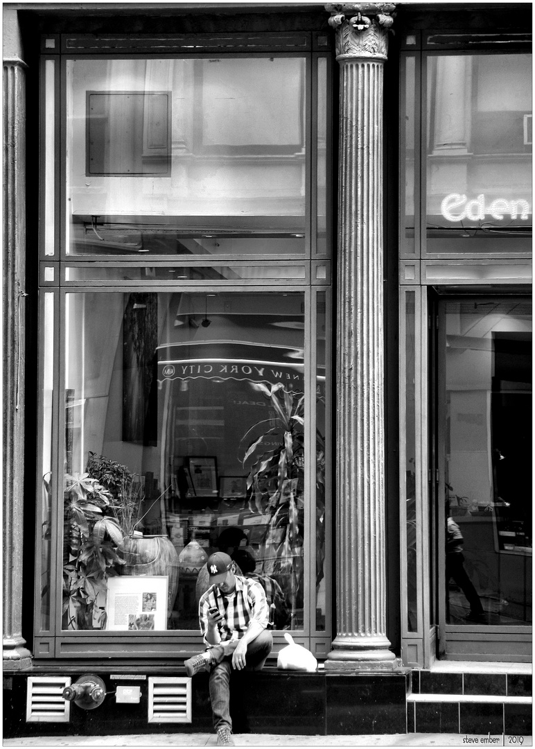 Lower Broadway No.2 - A TriBeCa Moment