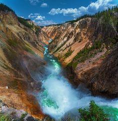 """""""Lower Falls Yellowstone"""""""