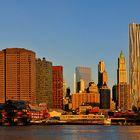 Lower Manhattan im Morgenlicht