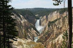 Lower Yellowstone Fall...