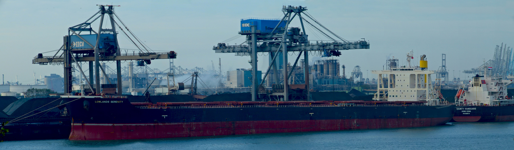 LOWLANDS SERENITY / Bulk Carrier / Europoort / Rotterdam / Bitte scrollen!