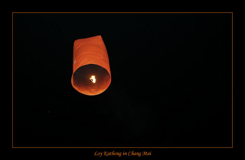 Loy Krathong in Chang Mai