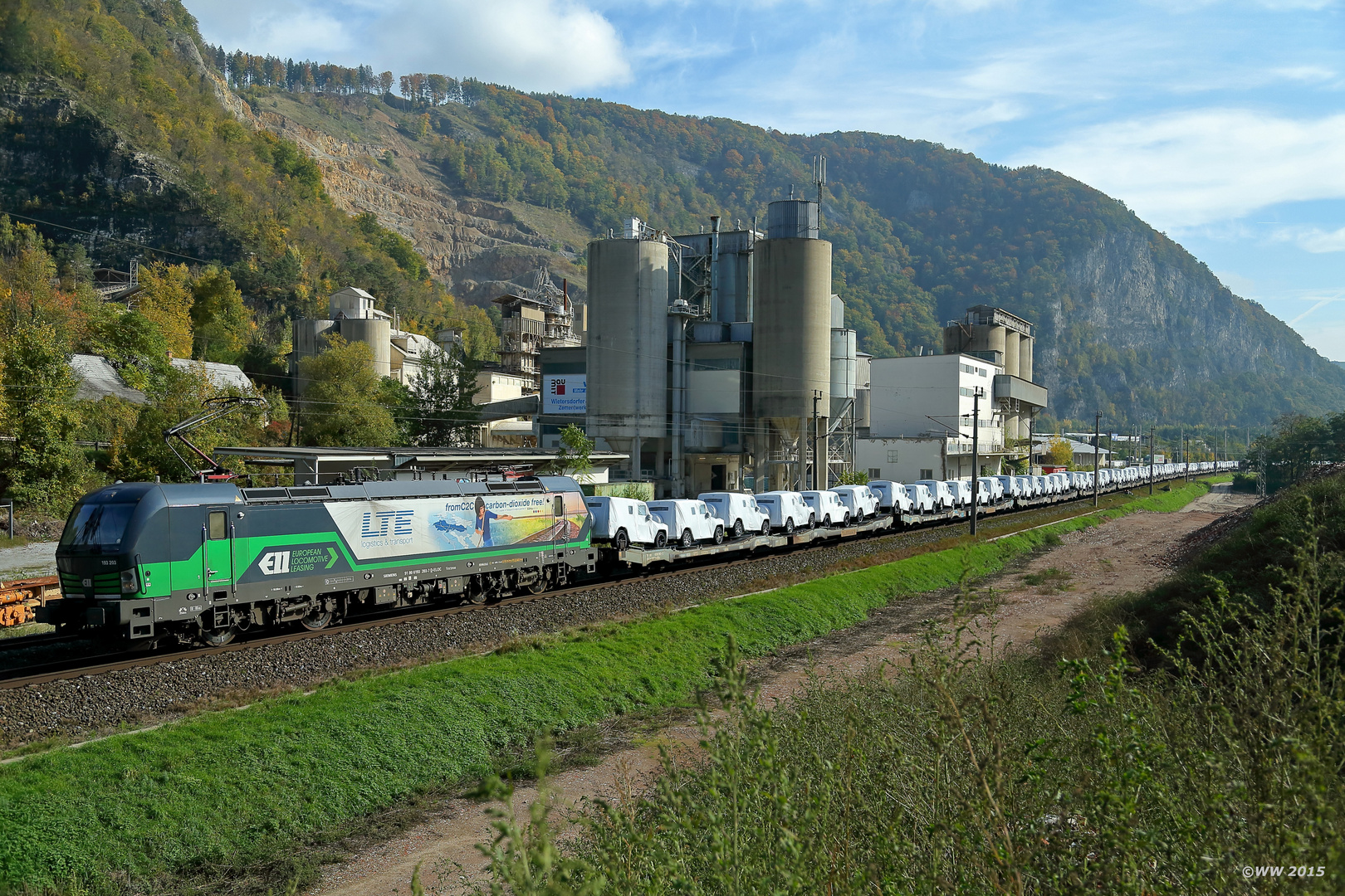 LTE G-Klasse Zug