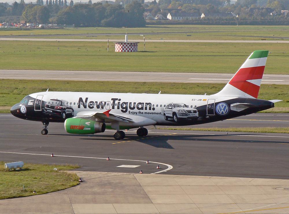 """Lte/Myair A320 """"Tiguan c/s"""""""
