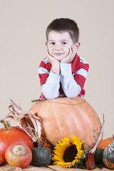 Luca in Herbststimmung
