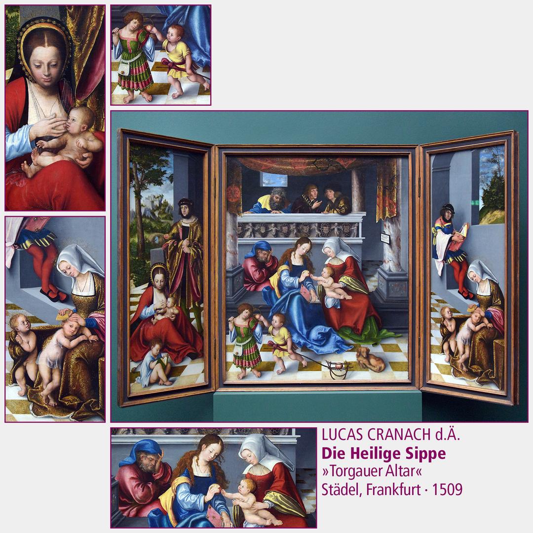 Lucas Cranach d.Ä. · Die Heilige Sippe