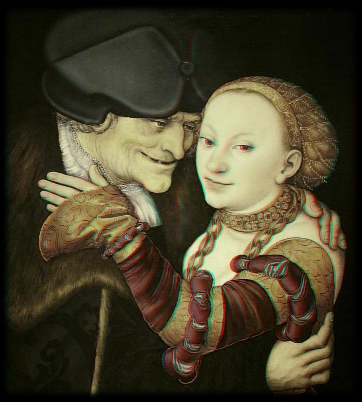 Lucas Cranach - Der verliebte Alte