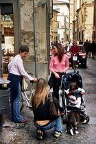 Lucca: Auf der Via Fillungo
