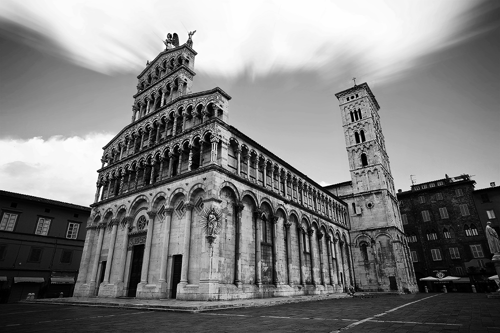 Lucca - Church Of San Michele In Foro