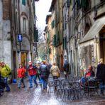 Lucca Strassenleben