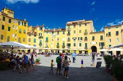 Lucca und die Farbe Gelb