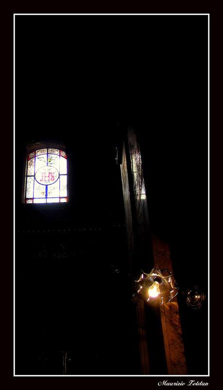 Luce divina e... luce terrena