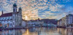 Lucerne - Heure dorée