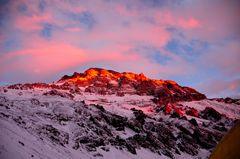 Luces de montaña