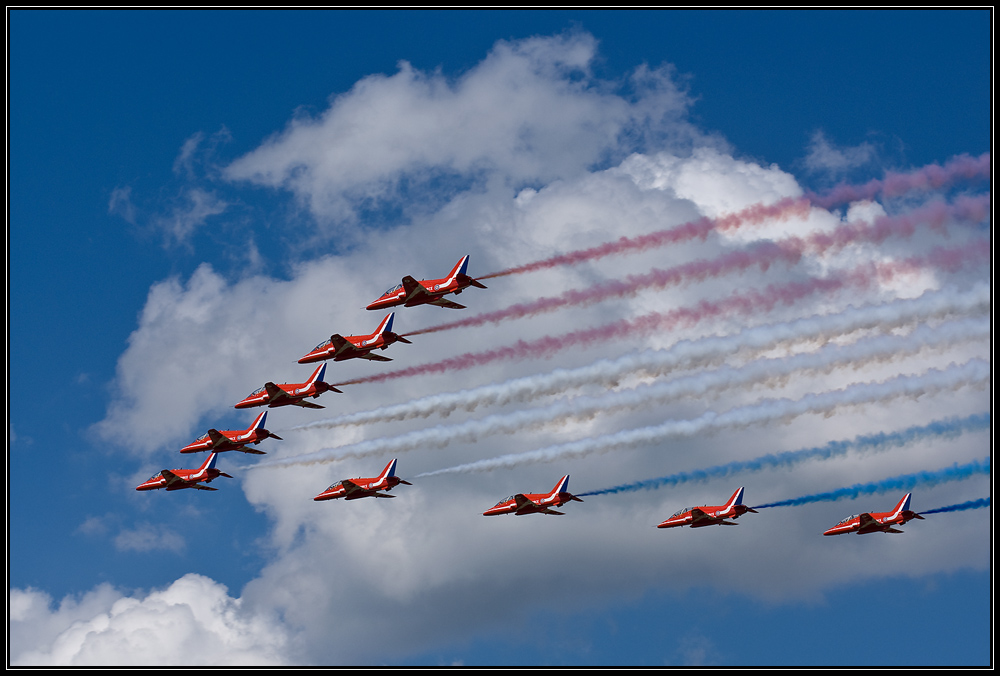 Luchtmachtdagen 09: Red Arrows (2)