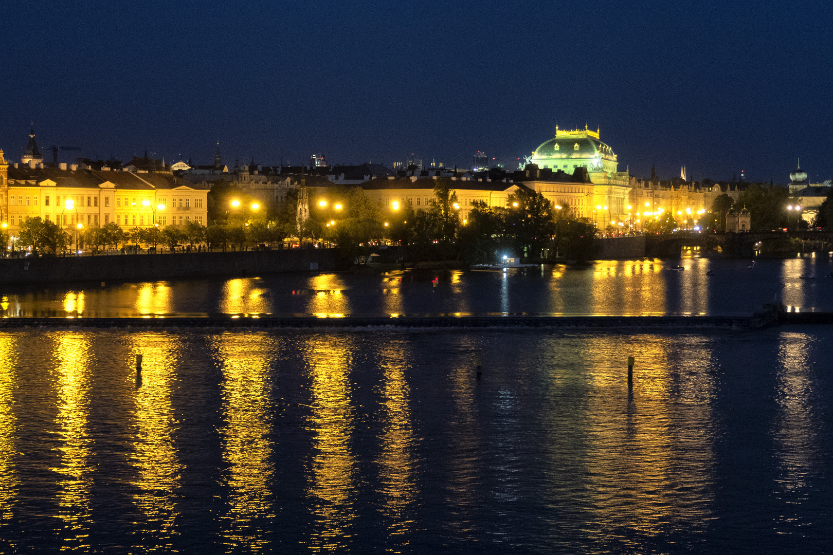 Luci sulla Moldava