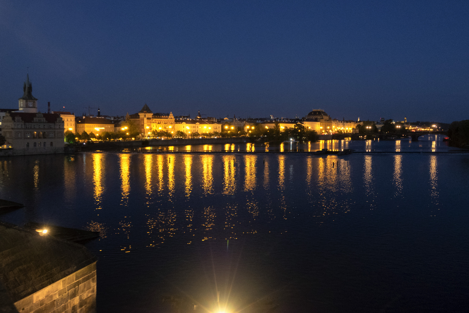 Luci sulla Moldava, Praga