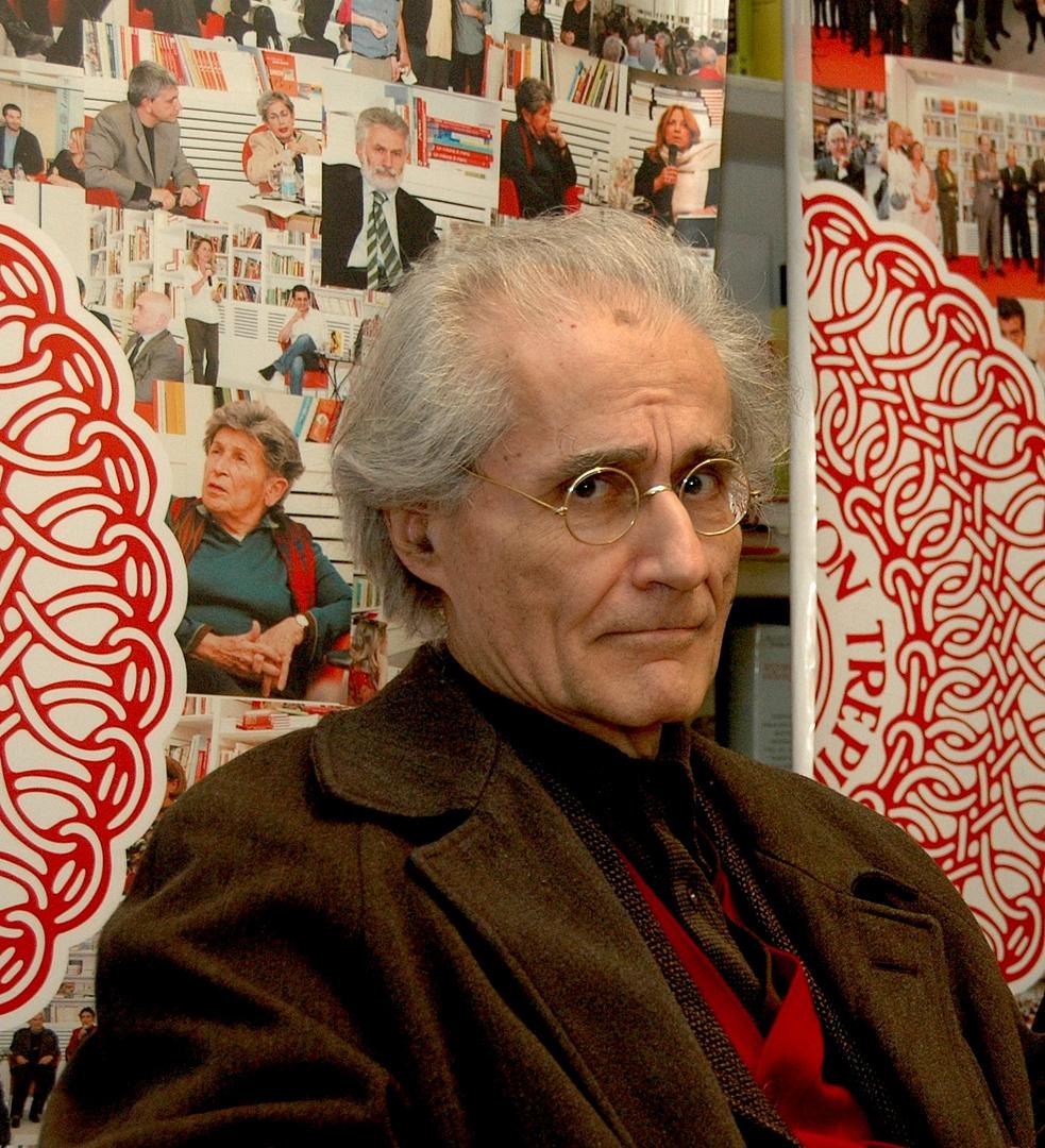 "Luciano Canfora ""Intelectual of Bari"" Legion Onor Francais"