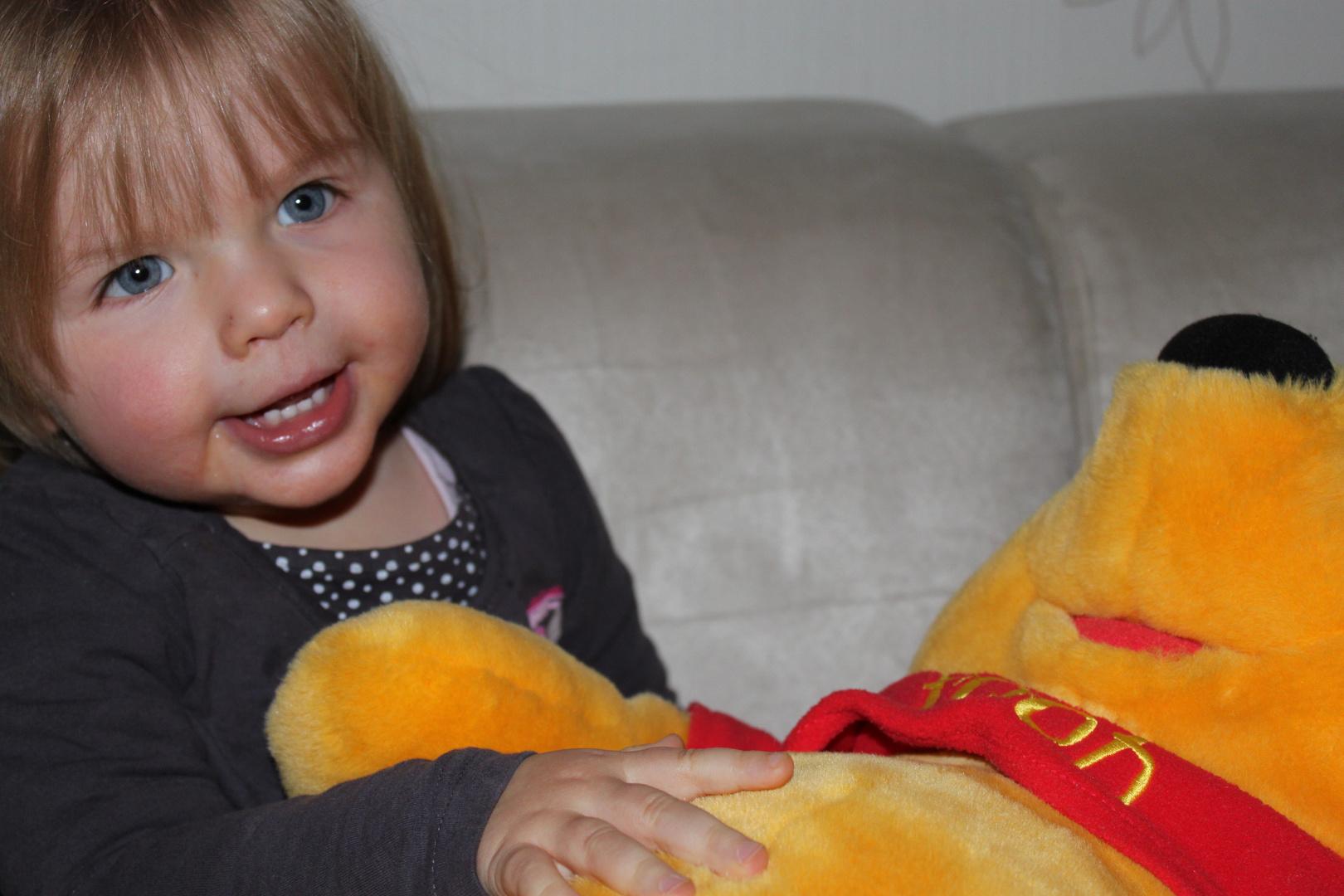 Lucy und Winnie Pooh