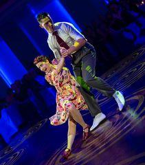 Ludovic Chanton&Stacey Aurel beim Boogie Woogie