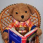 Ludwig als Bücherwurm